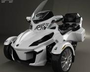 3D model of BRP Can-Am Spyder RT 2013