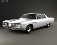 3D model of Buick Electra 225 4-door hardtop 1968