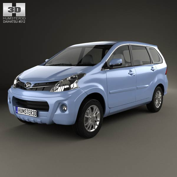 Daihatsu Xenia Sporty 2013 3d car model