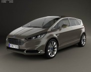 3D model of Ford S-Max 2013
