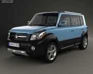 3D model of Great Wall Haval M2 2012