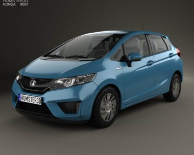 3D model of Honda Fit (Jazz) 2014