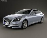 3D model of Hyundai Genesis (Rohens) 2015