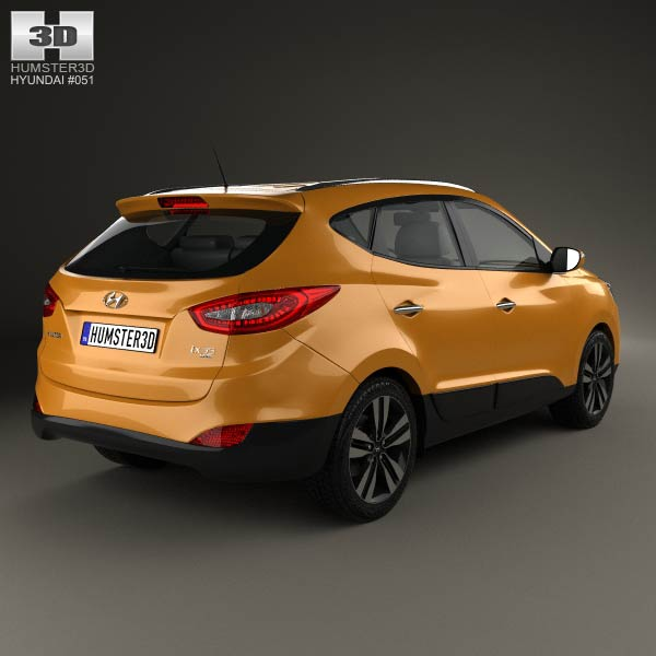 hyundai tucson ix35 korea 2013 3d model humster3d. Black Bedroom Furniture Sets. Home Design Ideas