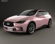 3D model of Infiniti Q30 2013