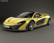 3D model of McLaren P1 2014