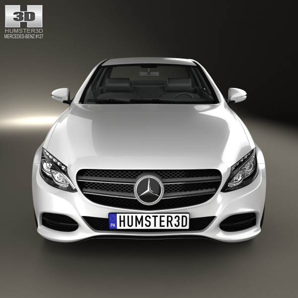 Mercedes benz c class w205 sedan 2014 3d model humster3d for Mercedes benz c class models