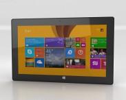 3D model of Microsoft Surface Pro 2