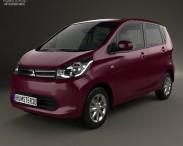 3D model of Mitsubishi eK Wagon 2013
