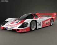 3D model of Porsche 956 C 1984