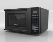 3D model of Microwave Oven Westinghouse WCM770B