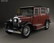 3D model of Austin 12/4 Taxi 1935