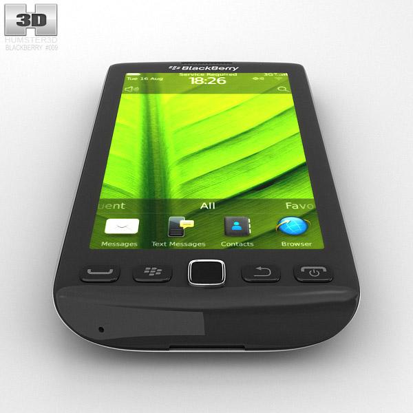 BlackBerry Torch 9860 3D model - Humster3D