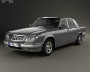 3D model of GAZ 31105 Volga 2005