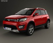 3D model of Great Wall Haval M4 2012