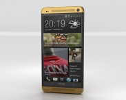 3D model of HTC One Gold Edition