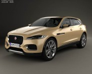 3D model of Jaguar C-X17 2013
