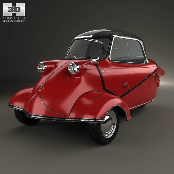 3D model of Messerschmitt KR200 1956