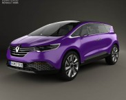 3D model of Renault Initiale Paris 2013