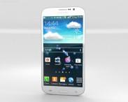 3D model of Samsung Galaxy Mega 5.8 White