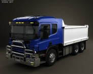 3D model of Scania R 420 Tipper Truck 2004