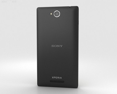 3D model of Sony Xperia C