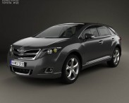3D model of Toyota Venza 2012