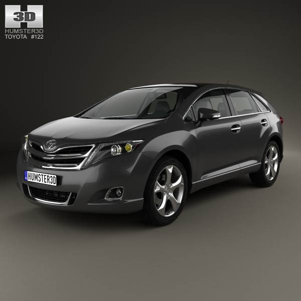 Toyota Of Olympia >> Toyota Venza 2012 3D model - Humster3D