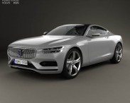 3D model of Volvo XC Concept Coupe 2013