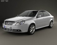 3D model of Buick Excelle 2013
