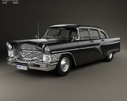 3D model of GAZ 13 Chaika 1959