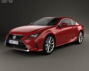 3D model of Lexus RC 2014