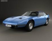 3D model of Maserati Indy 1969
