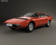 3D model of Maserati Khamsin 1977
