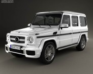 3D model of Mercedes-Benz G-Class 65 AMG 2013