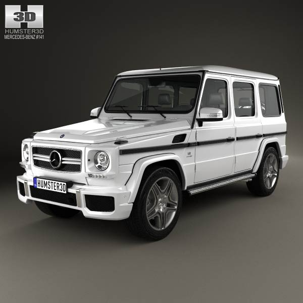 mercedes benz g class 65 amg 2013 3d model humster3d