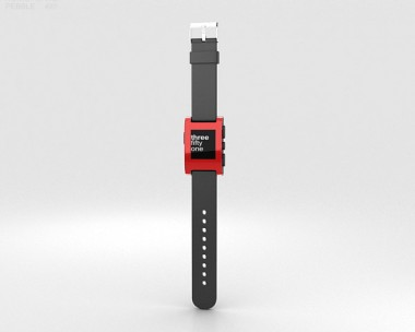 3D model of Pebble E-Paper Watch