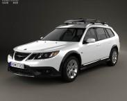 3D model of Saab 9-3 X 2009