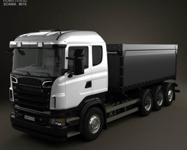 3D model of Scania R 730 Tipper Truck 2010