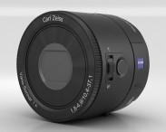 3D model of Sony DSC QX100 lens module