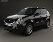 3D model of SsangYong Rexton 2001