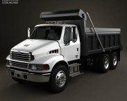 3D model of Sterling Acterra Dump Truck 2002