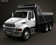 3D model of Sterling Acterra Dump Truck 2002