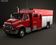 3D model of Sterling Acterra Fire Truck 2002