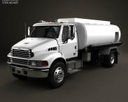 3D model of Sterling Acterra Oil Tank Truck 2002