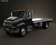 3D model of Sterling Acterra Tow Truck 2002