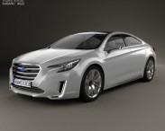 3D model of Subaru Legacy Concept 2015