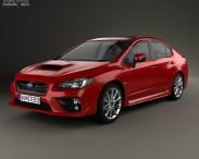 3D model of Subaru WRX 2014