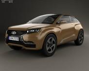 3D model of Lada XRAY 2012 Concept