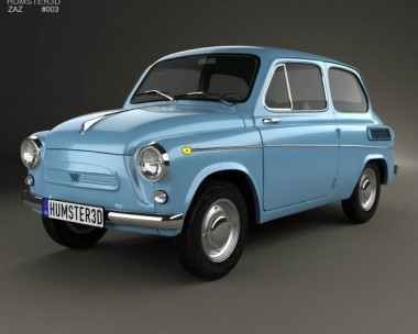 3D model of ZAZ 965A Zaporozhets 1962